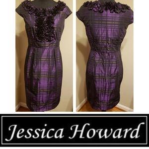 Jessica Howard | Purple Cocktail Dress